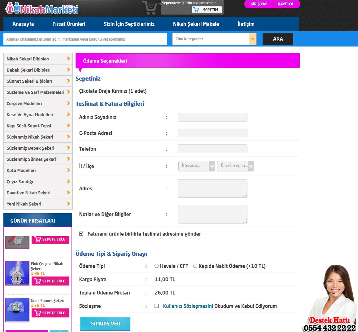 nikah sekeri sipari Nikah Şekeri Online Sipariş